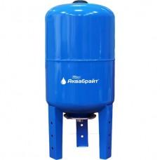 ГМ-100 В,  Гидроаккумулятор АКВАБРАЙТ, Вертикальный тип. Объем 100 литров. Материал мембраны каучук
