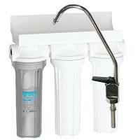 Фильтр 3 ступени прозр; механ, уголь, умягчение