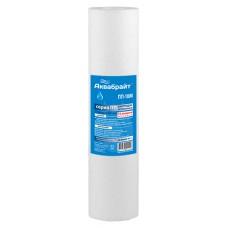 ПП-10М, Картридж для механической очистки воды  АКВАБРАЙТ. Пористость 10 мкр, Типоразмер SLIMLINE 10