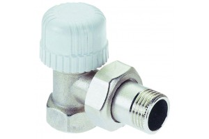 Клапан ручной  угловой д/рад 82803AE06  (Ду20)