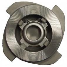 Клапан обратный  нерж. сталь  пружинный межфланцевый OPN24025