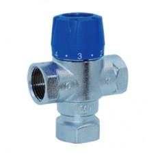 """Термостатический смесительный клапан 1/2 муфтовый """" TIM"""