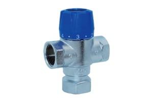 """Термостатический смесительный клапан 1/2 муфтовый """" TIM (TMV811-02)"""