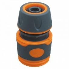 """ППГ- 000019 Соединитель 1/2"""" , быстросъемный,пластиковый корпус с резиновыми вставками"""