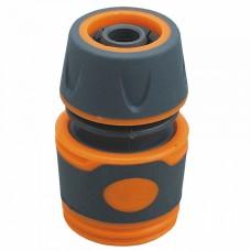 """ППГ- 000020 Соединитель 1/2"""" , быстросъемный, пластиковый корпус с резиновыми вставками"""