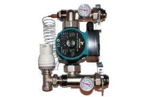 Насосно-смесительный узел для систем отопления (TIM JH-1032)