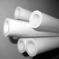 Труба полипропиленовая SDR 7,4 армированная стекловолокном  белая