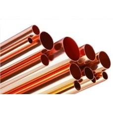 Труба медная для водопровода  L=2.5 м