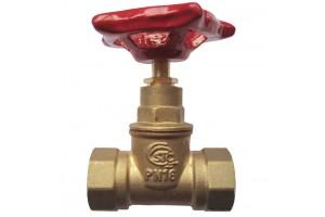 Клапан проходной запорный муфтовый STC (Ду50) аналог15б1п