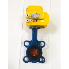 Затвор дисковый поворотный Tecofi VPI4448  с электроприводом DN-003 220В (Ду40 Ру16)