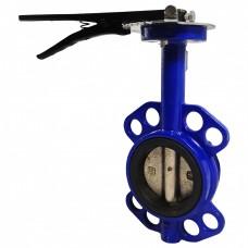 Затворы поворотные дисковые  с металлической рукояткой (КИТАЙ)